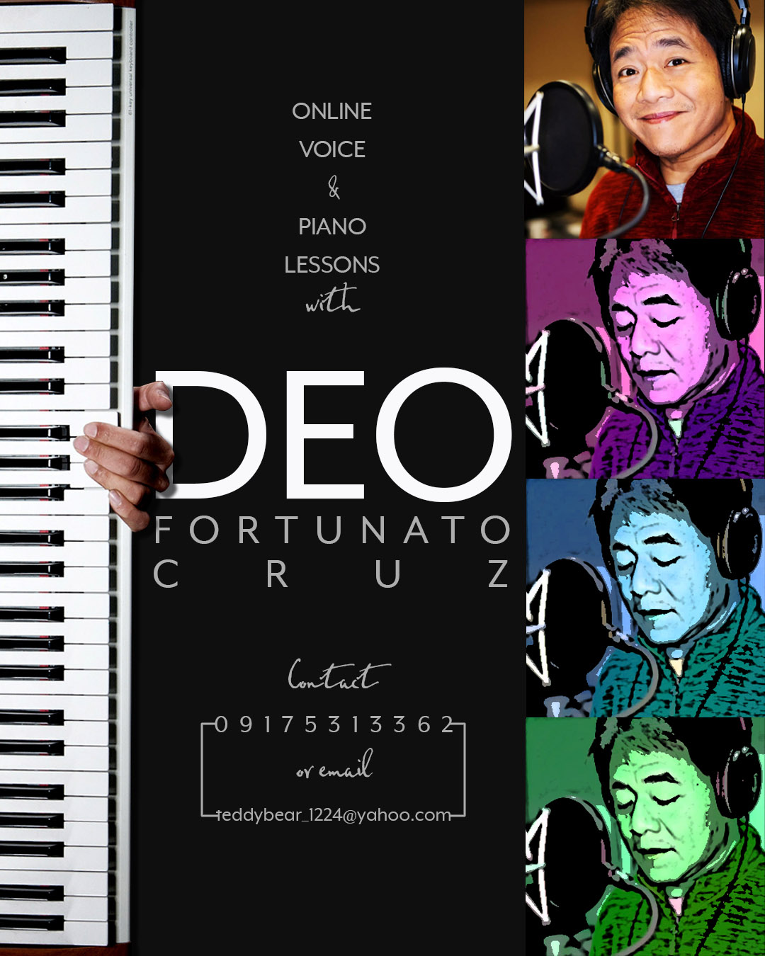 Poster: Deo music lessons