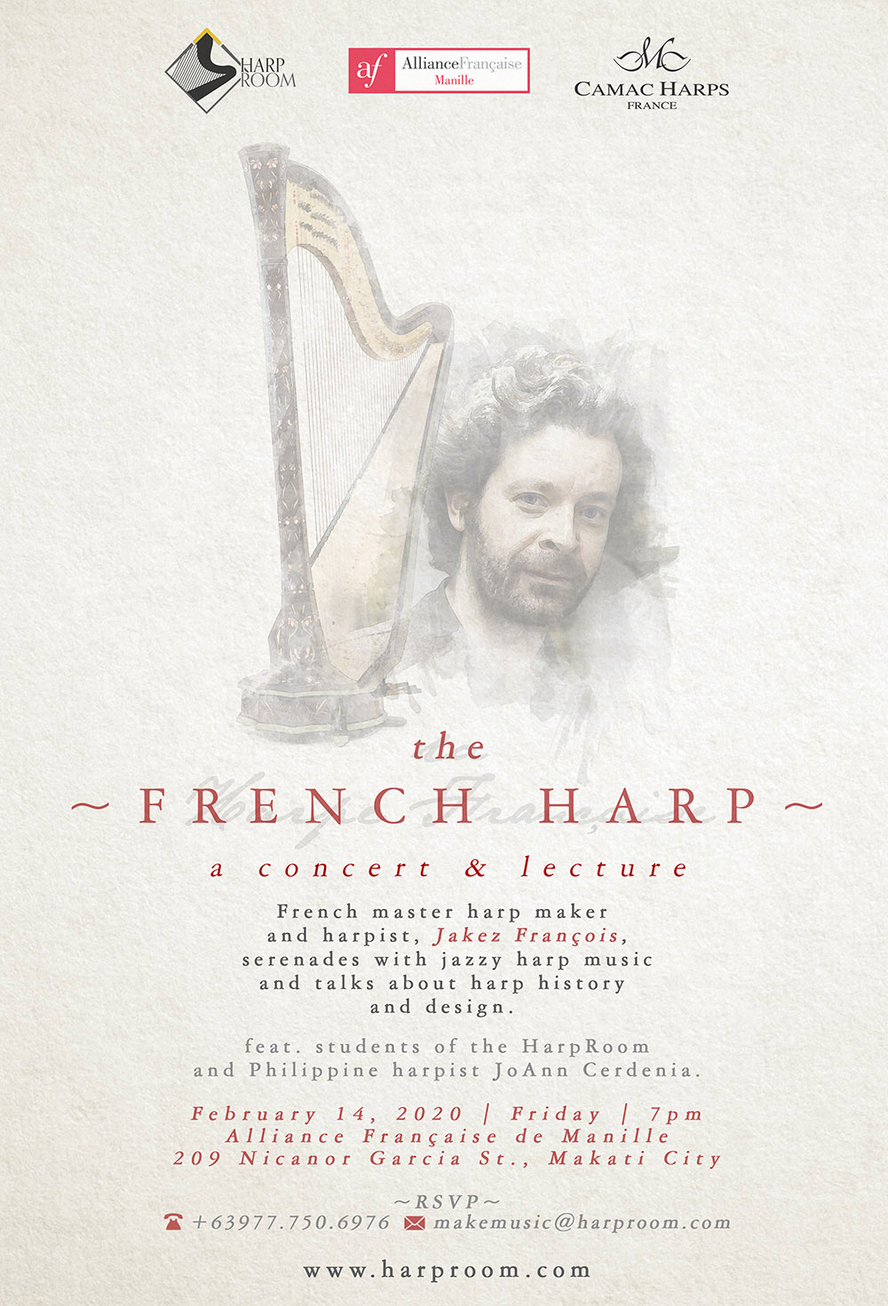Poster: The French Harp