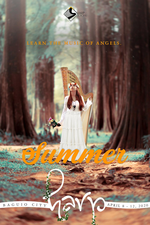 Poster: Summer harp
