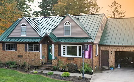 Metal Roofing Services - Kline Home Exteriors