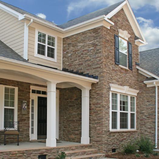 Ledgestone Home Exterior Stone