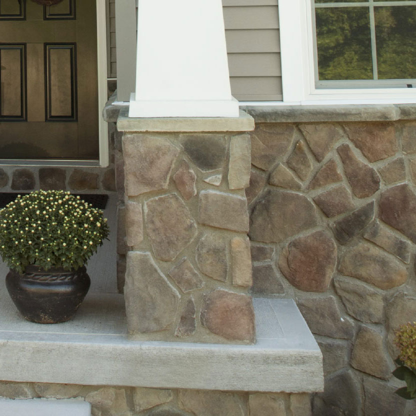Field Stone Home Exterior Stone