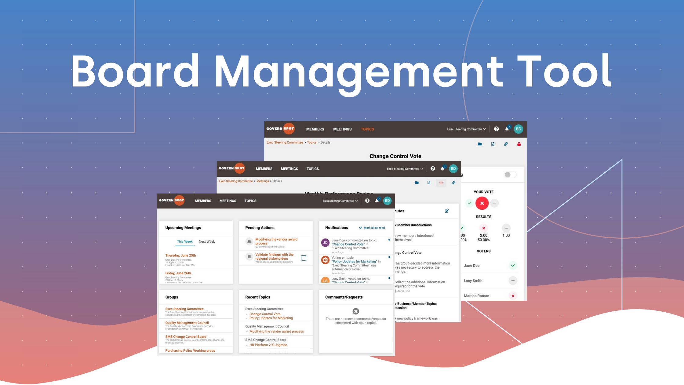 Free Board Management Software