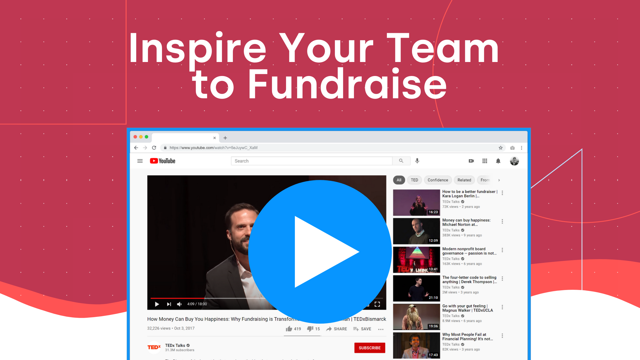 Get Inspired To Fundraise (video)