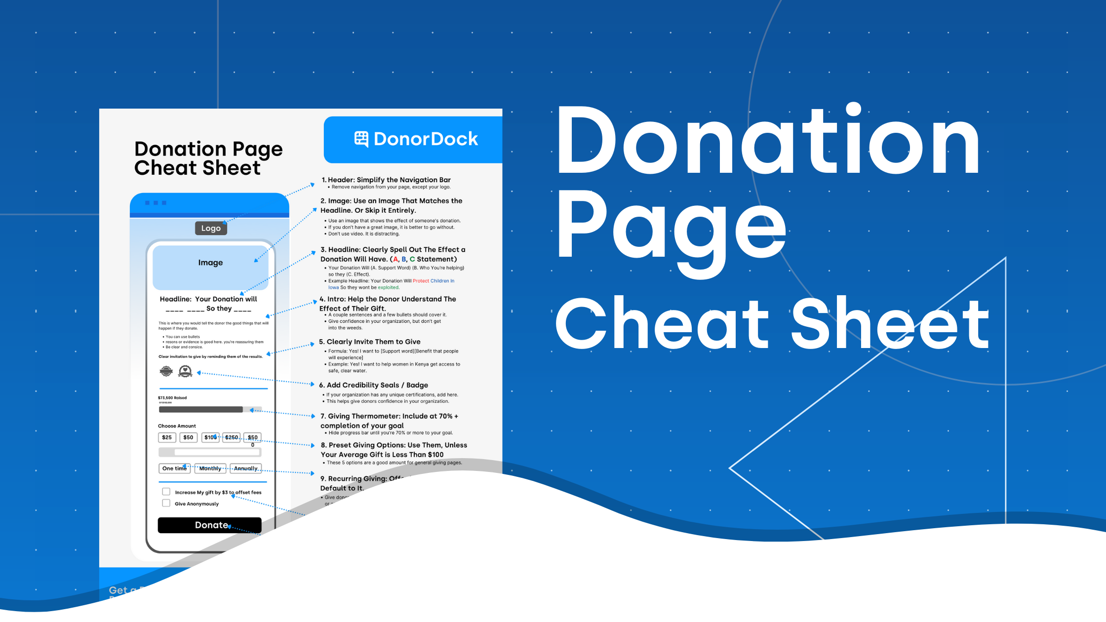 Donation Page Template