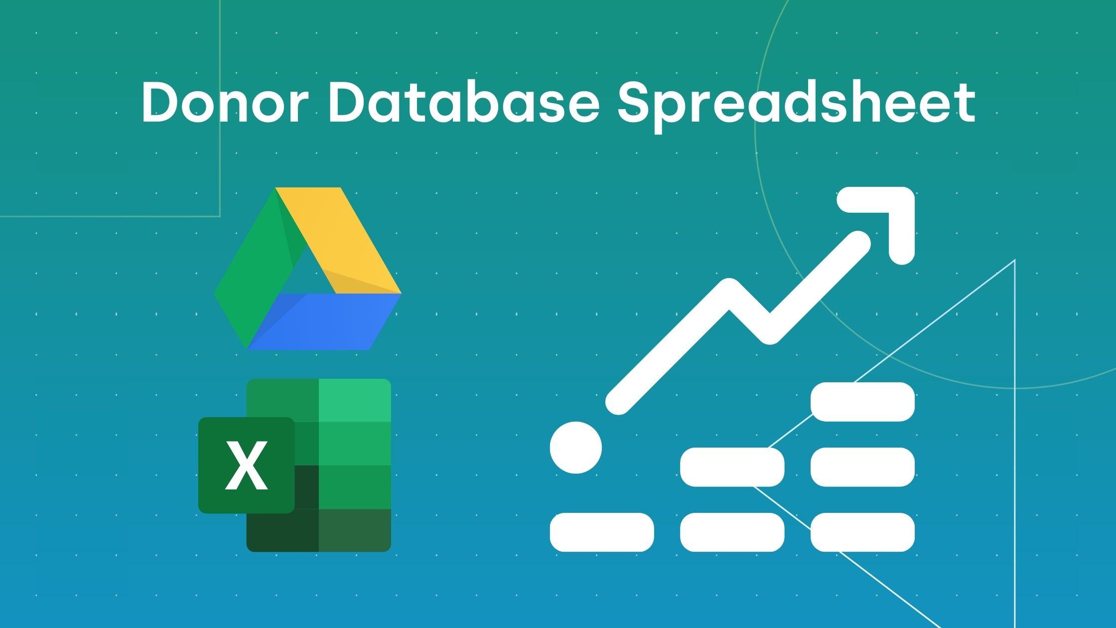 Free Google Sheets Donor Database Spreadsheet