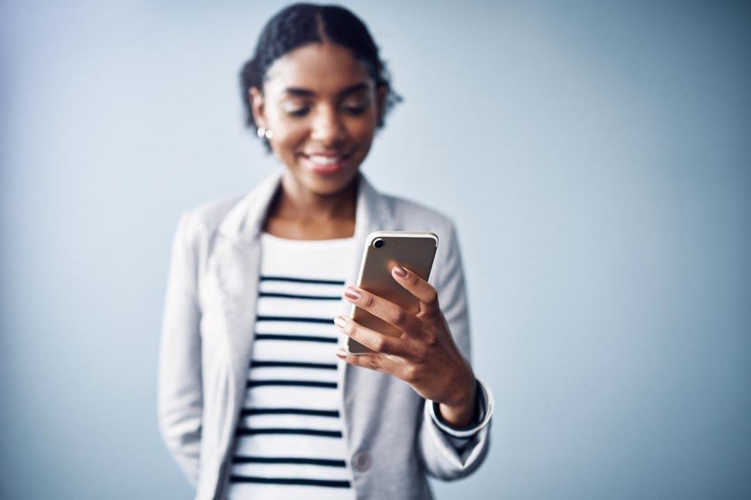 woman in digital marketing in insurance