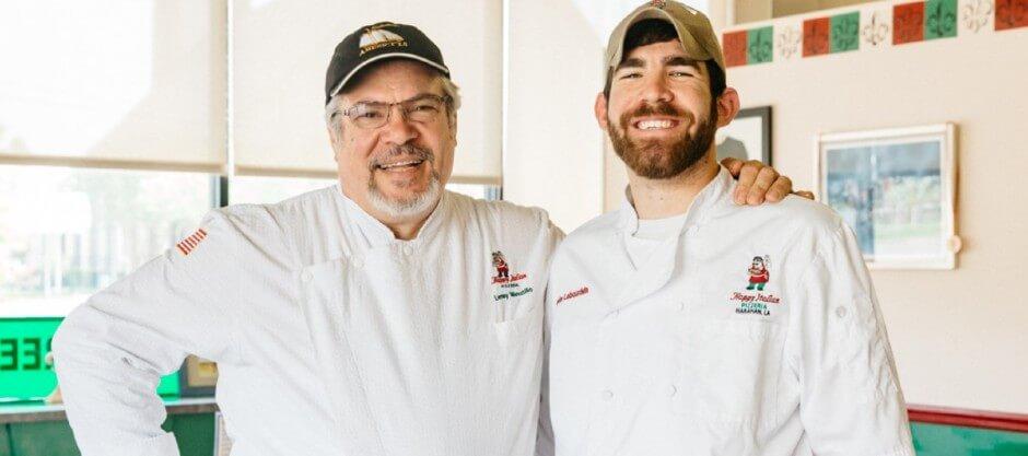 Chefs of Happy Italian Pizzeria