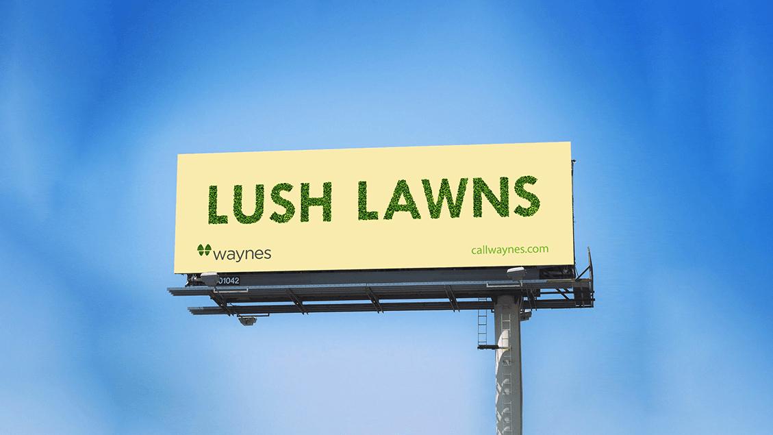 Waynes | Billboard Campaign