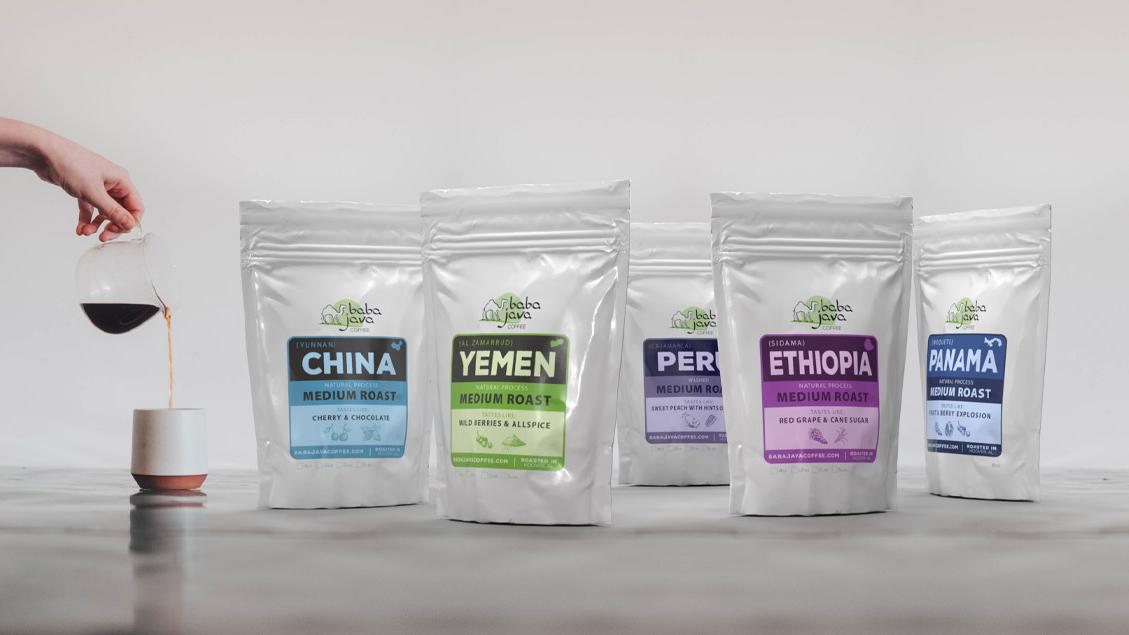 Baba Java | Branding & Packaging