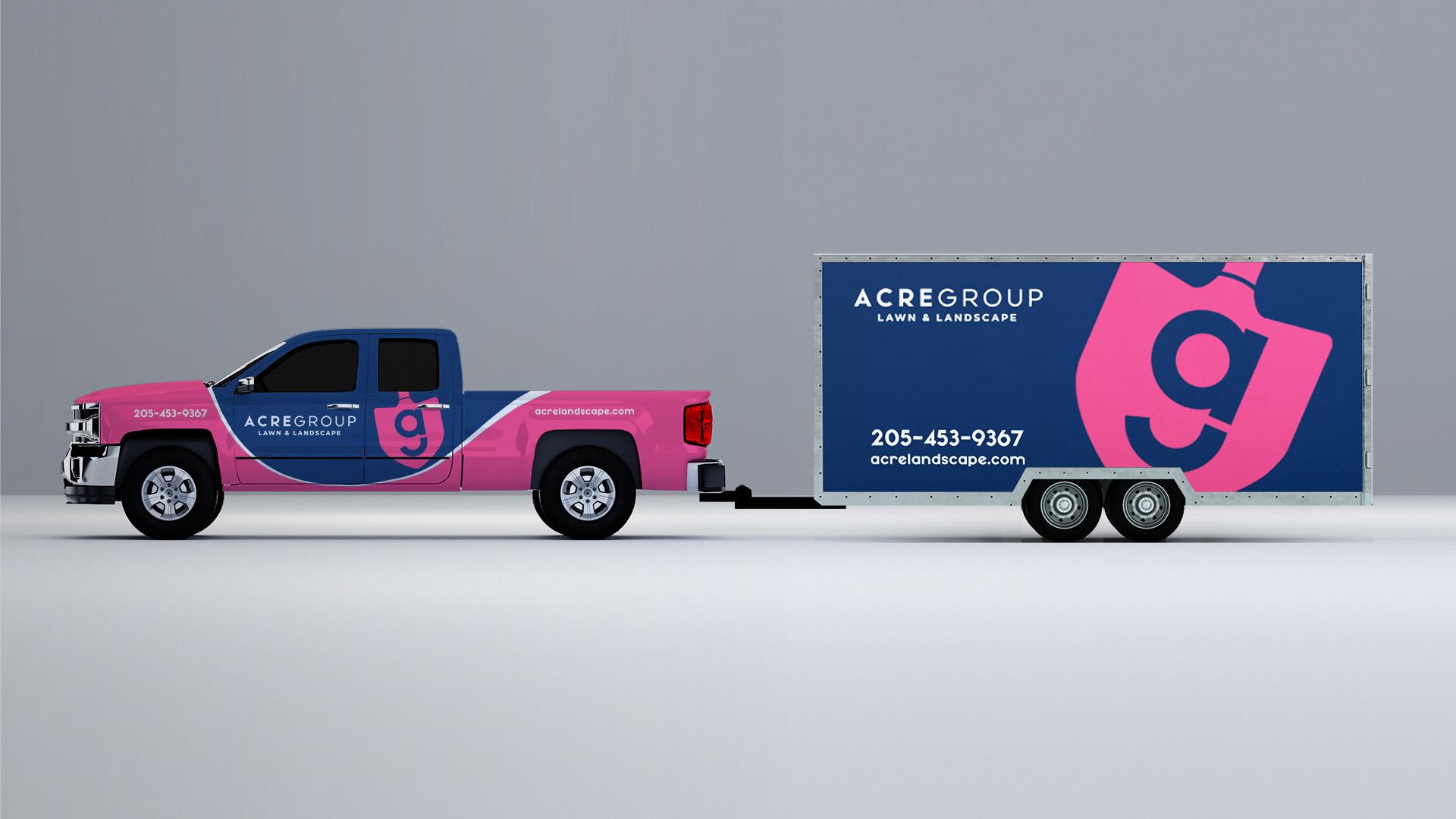 Acre Group Landscape | Logo & Vehicles