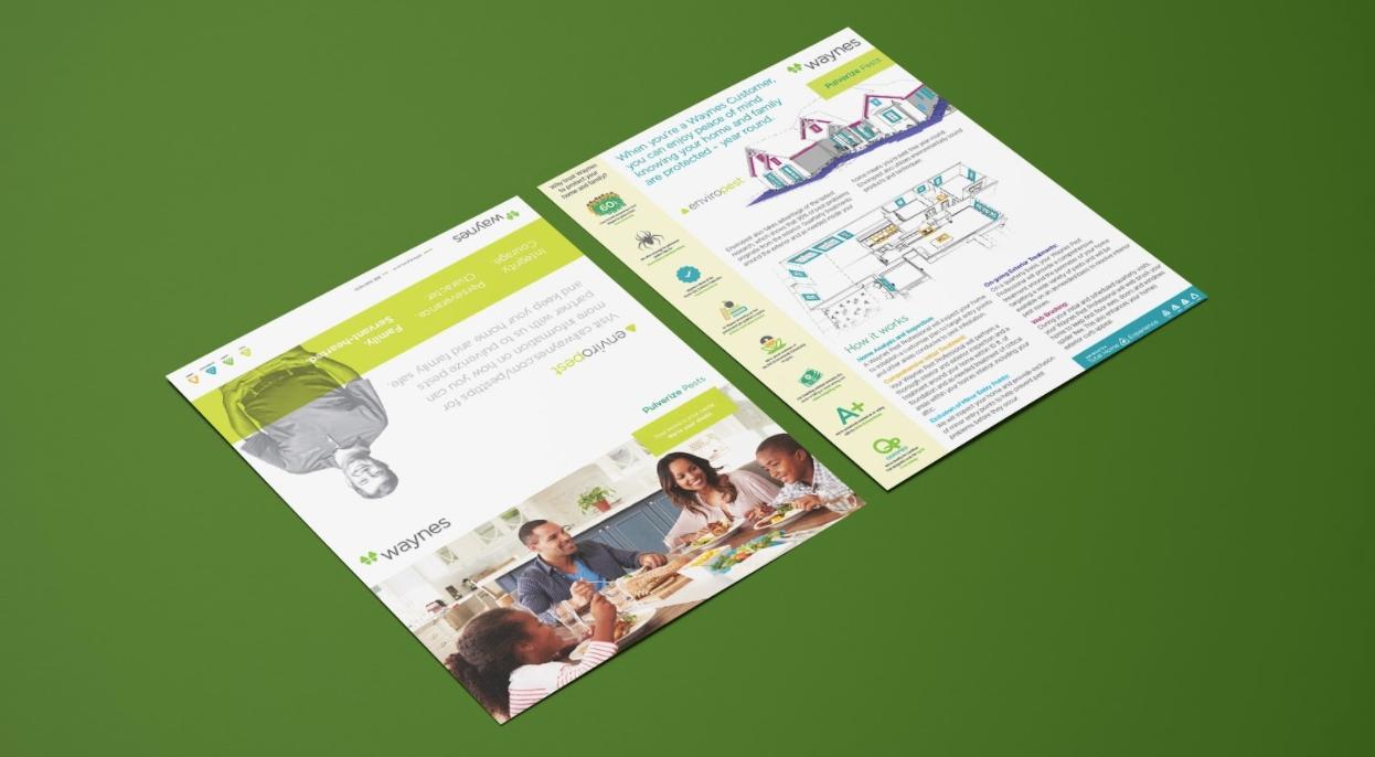 Waynes | Print & Marketing Materials
