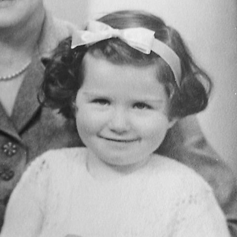 Dr. Anne Meade childhood photo
