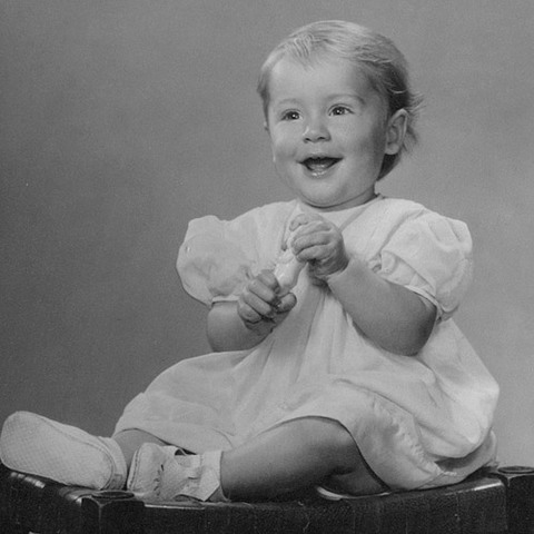 Carol Hartley childhood photo