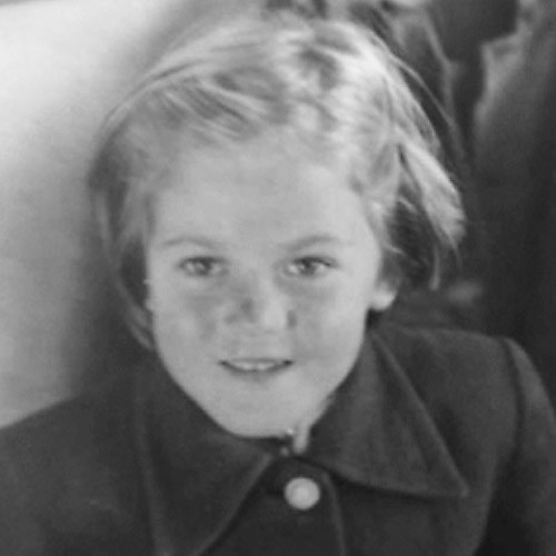 June Mcloughlin childhood photo