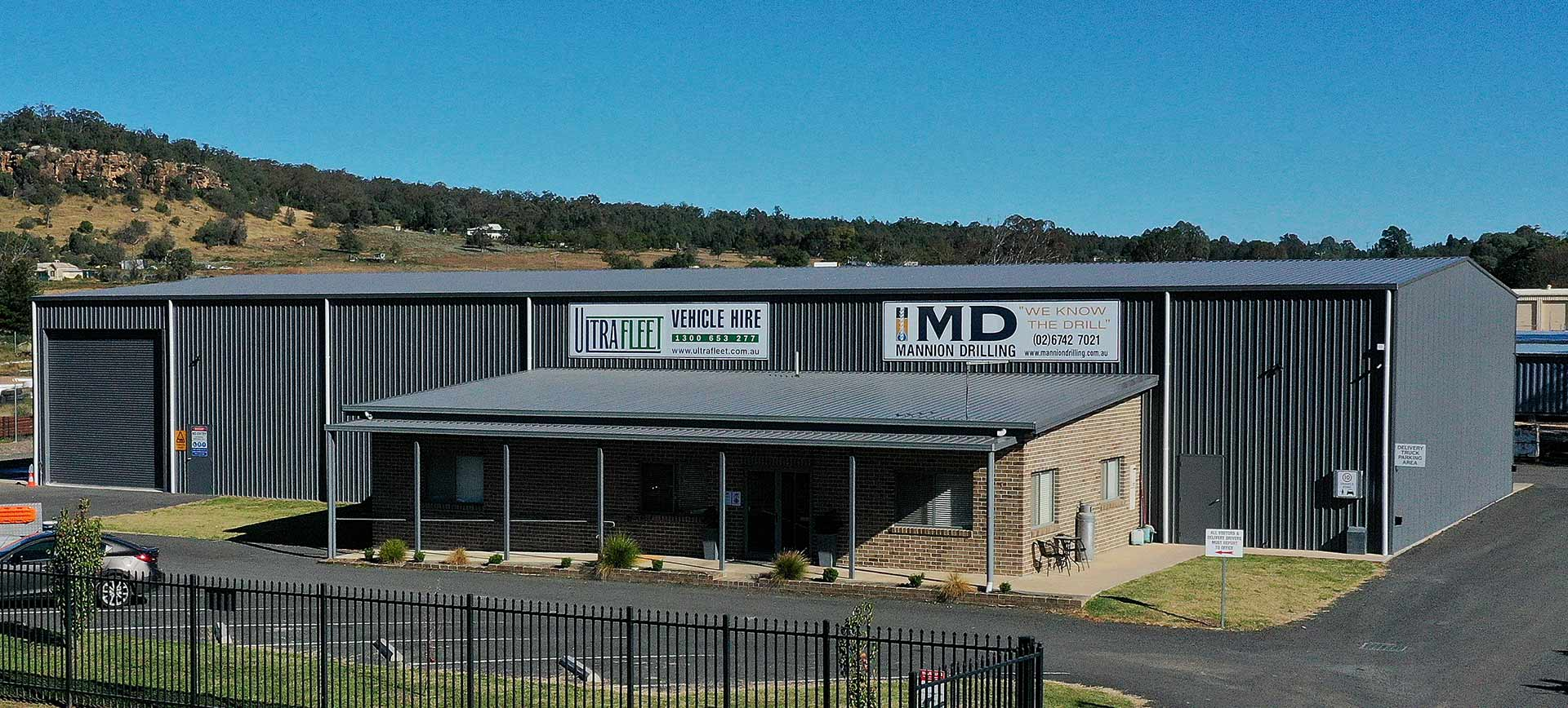 Ultra Fleet Vehicle hire and Mannion Drilling Headquarter