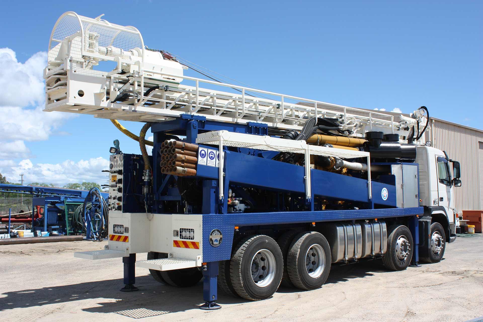 Mannon Drilling Truck loader