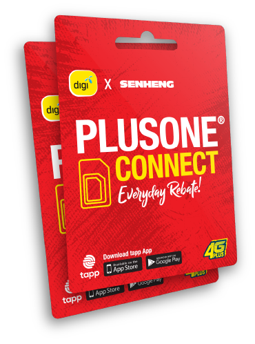 PlusOne Connect SIM Pack