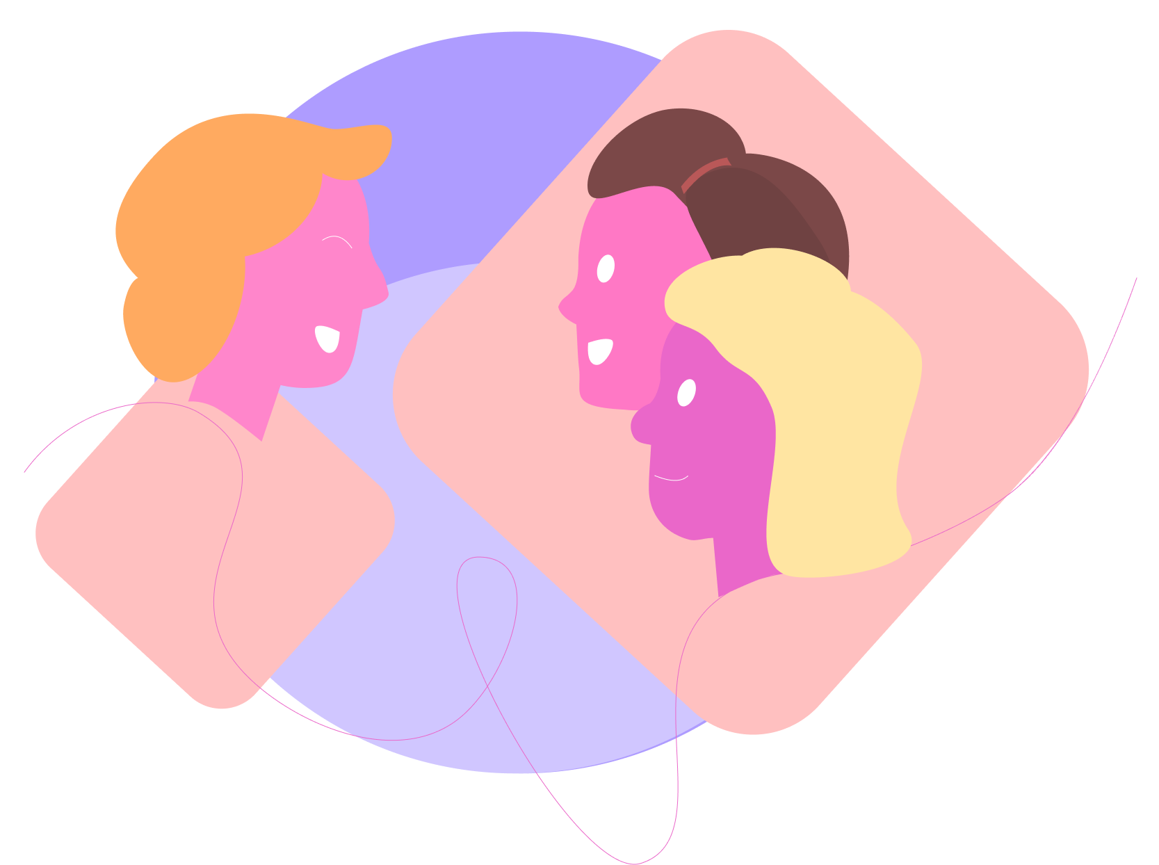mtime illustration dialogue