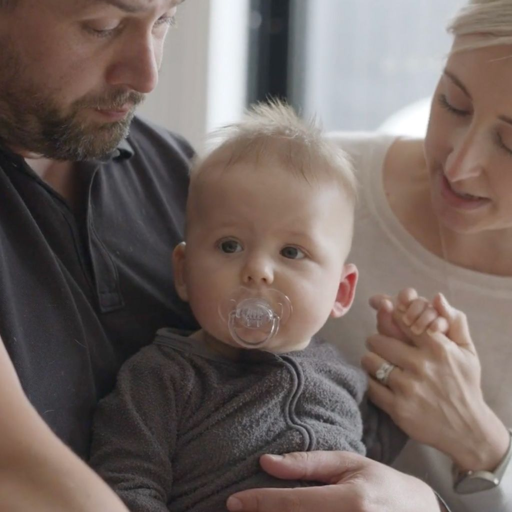 Melbourne parents, Jessi and Ben, discover the magic of mtime