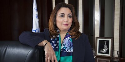 Photo Madame Bouchamaoui