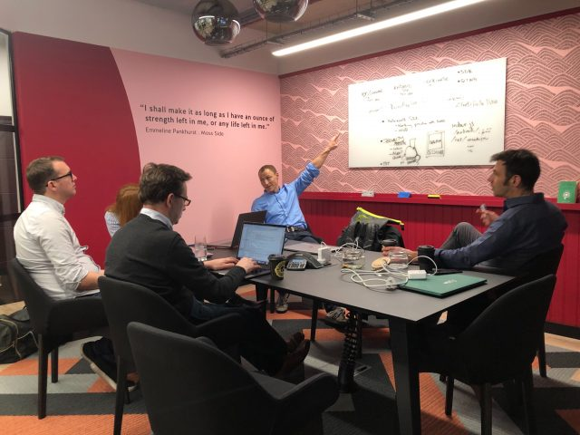 Nivo's development team starting planning on the SDK