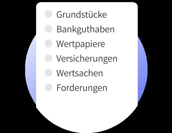 Erbe erfassen ganz einfach online digitales Nachlassverzeichnis von Erblotse.de