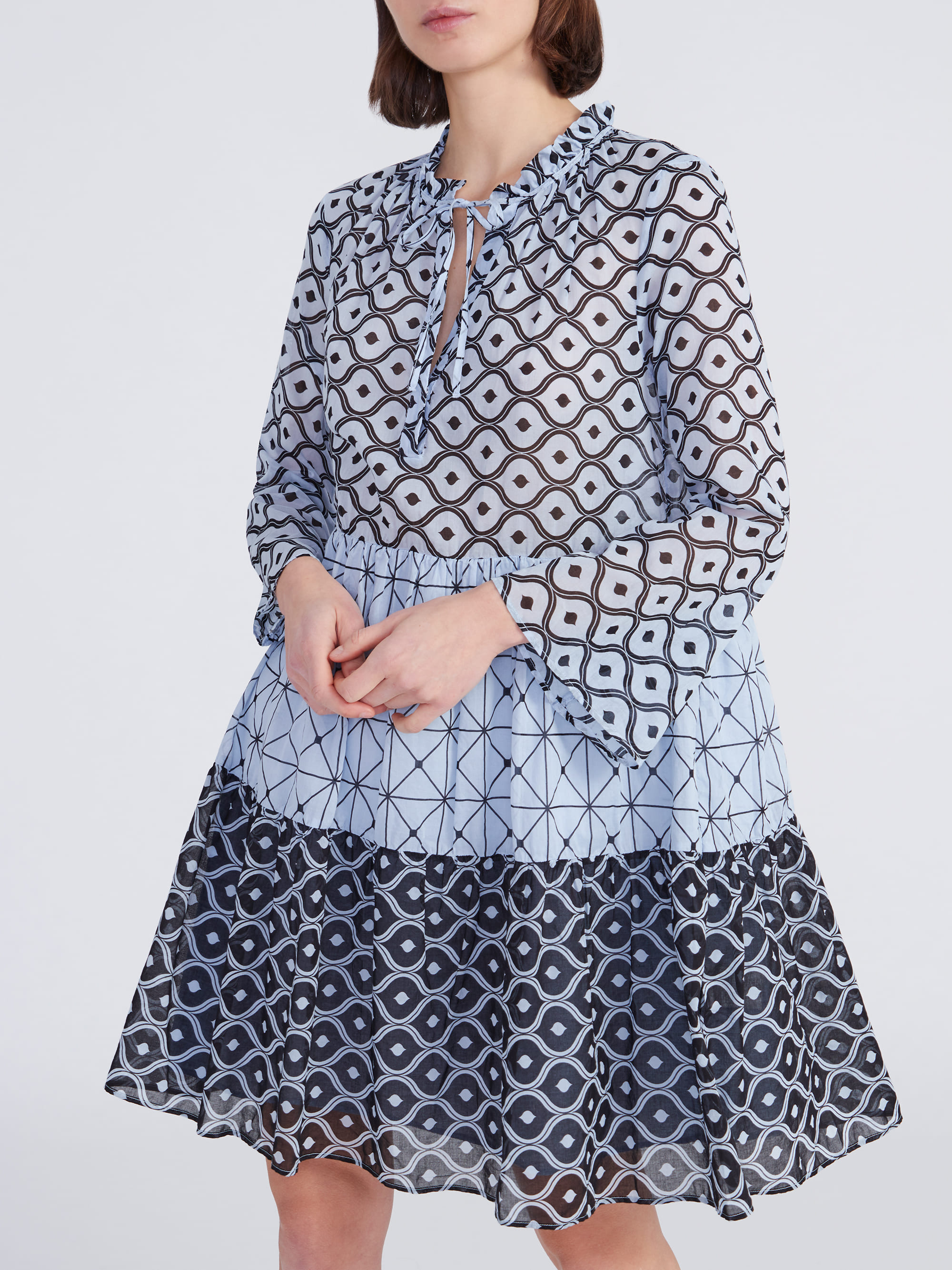 Kleid Milly Grafikprint