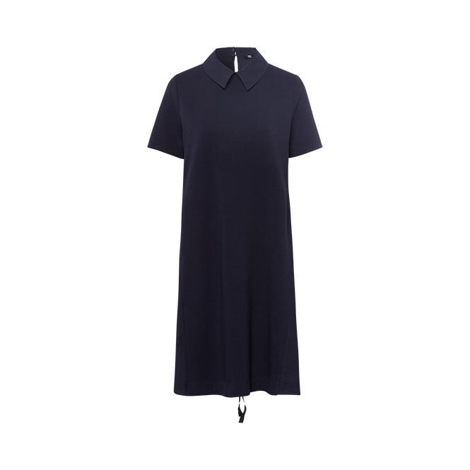Kleid Polokragen