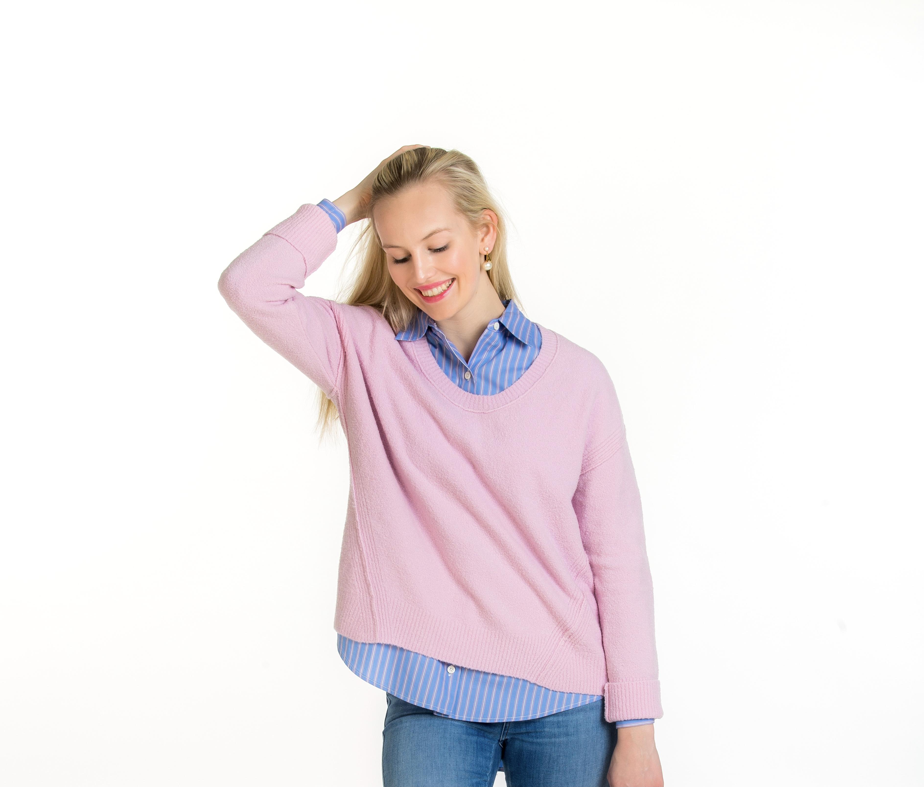 Pullover Cashmeremix Rosé