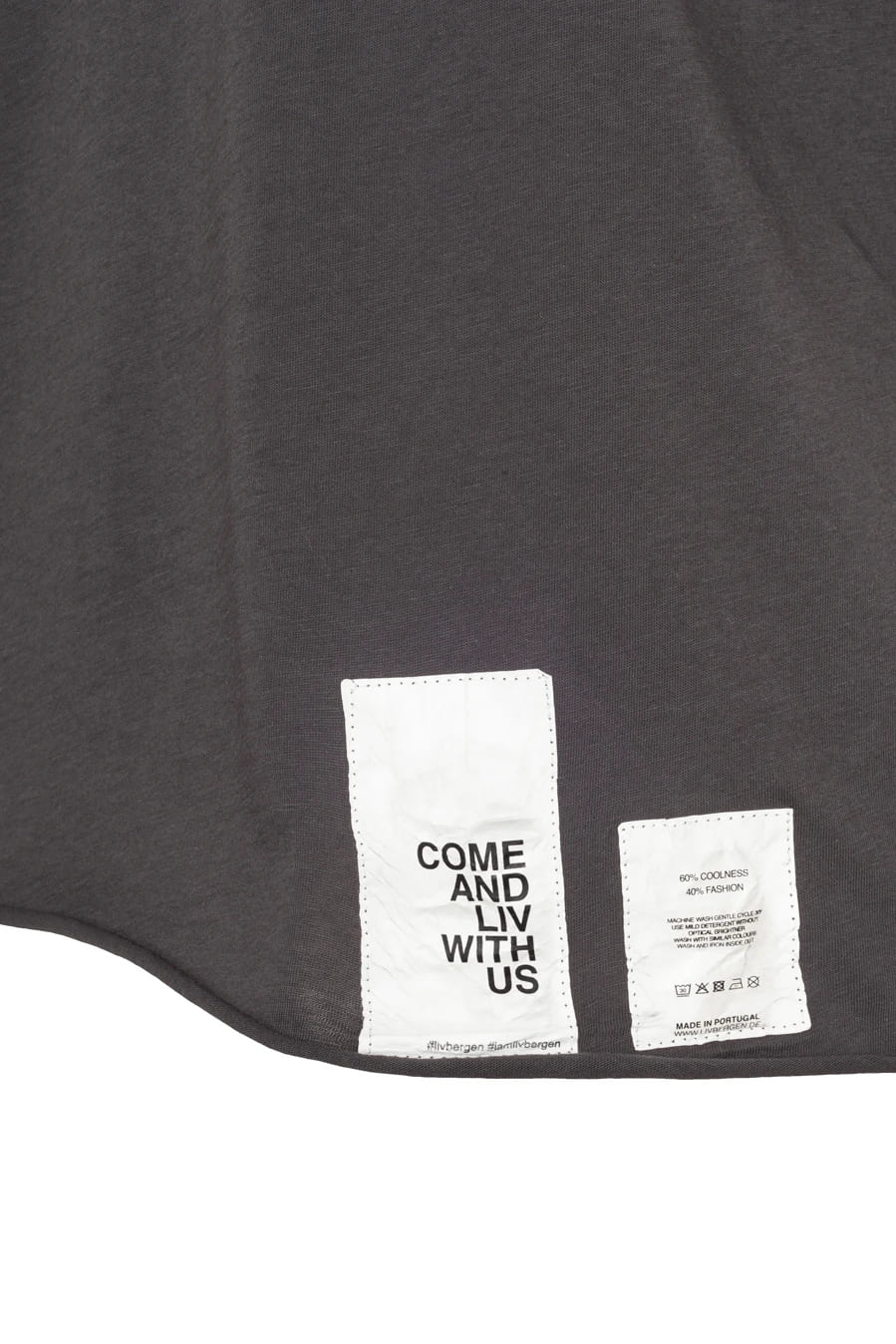 T-Shirt Violetta Charcoal