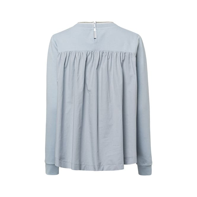 Sweatshirt im Materialmix