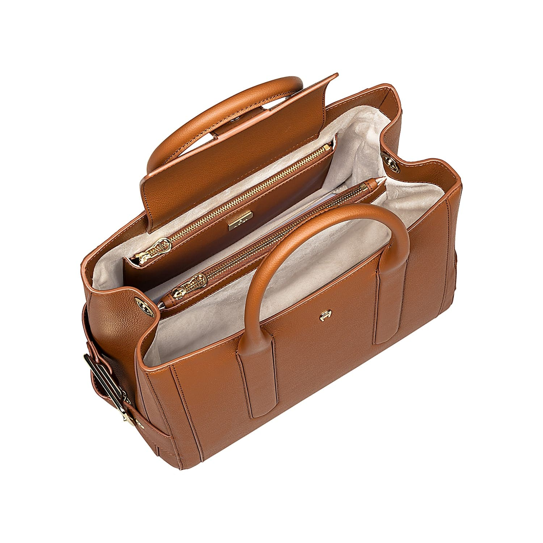 Handtasche Venezia Walnuss