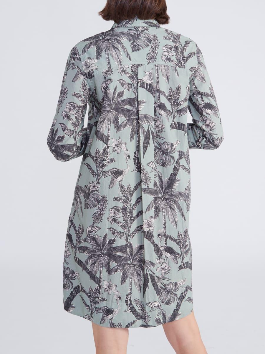 Hemdblusenkleid Gracia Jungleprint