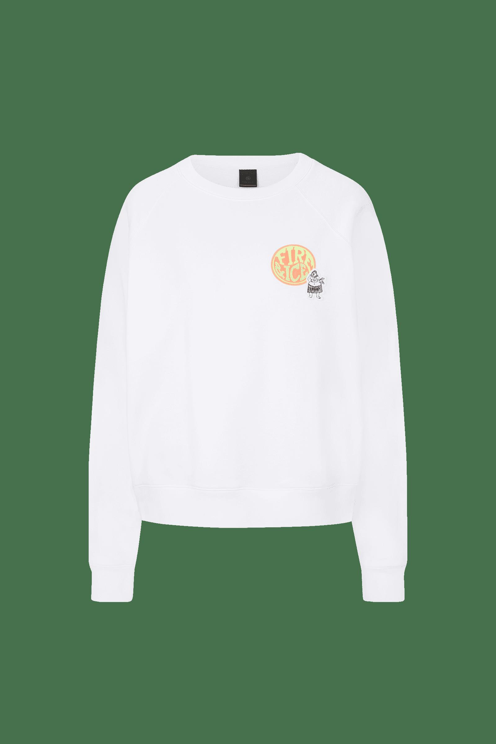 Sweatshirt Ramira Weiß