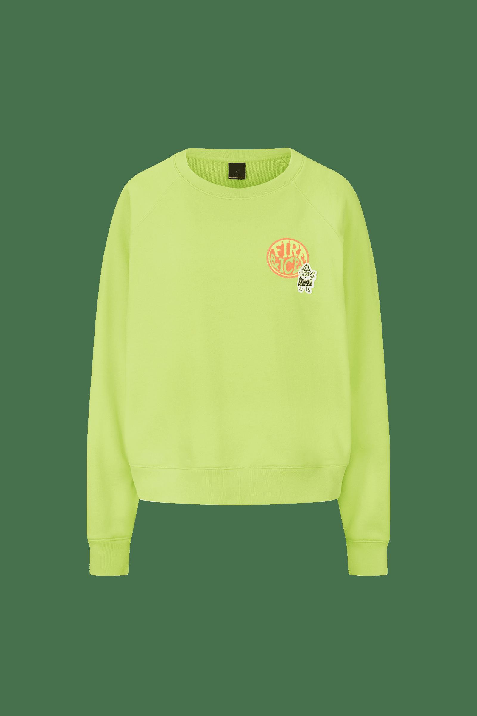 Sweatshirt Ramira Lime