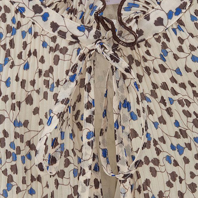 Plissiertes Kleid Ginkgo