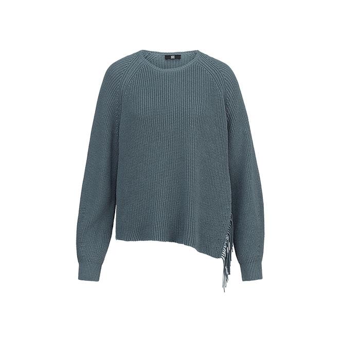 Pullover mit Fransendetails