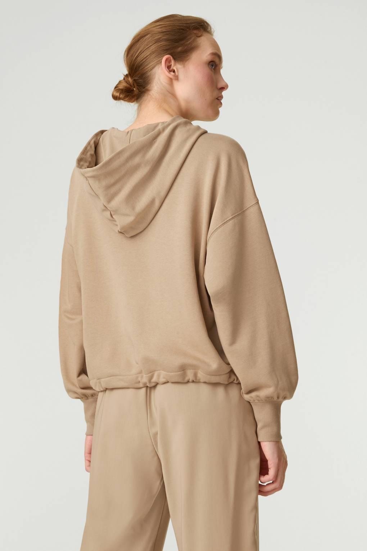 Hoodie Rosana Camel