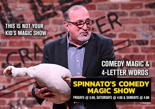 SPINNATO'S COMEDY MAGIC