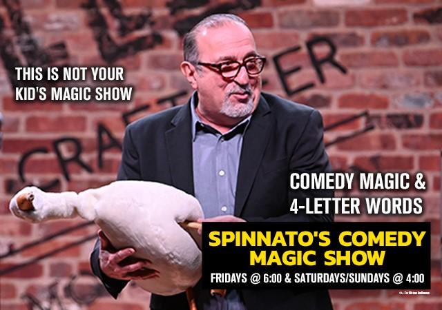 SPINNATO'S COMEDY MAGIC