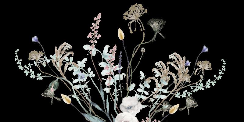 Floral accent image