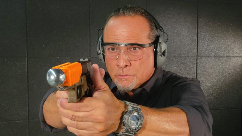 Lieutenant Tony Lettieri demonstrating the Alternative
