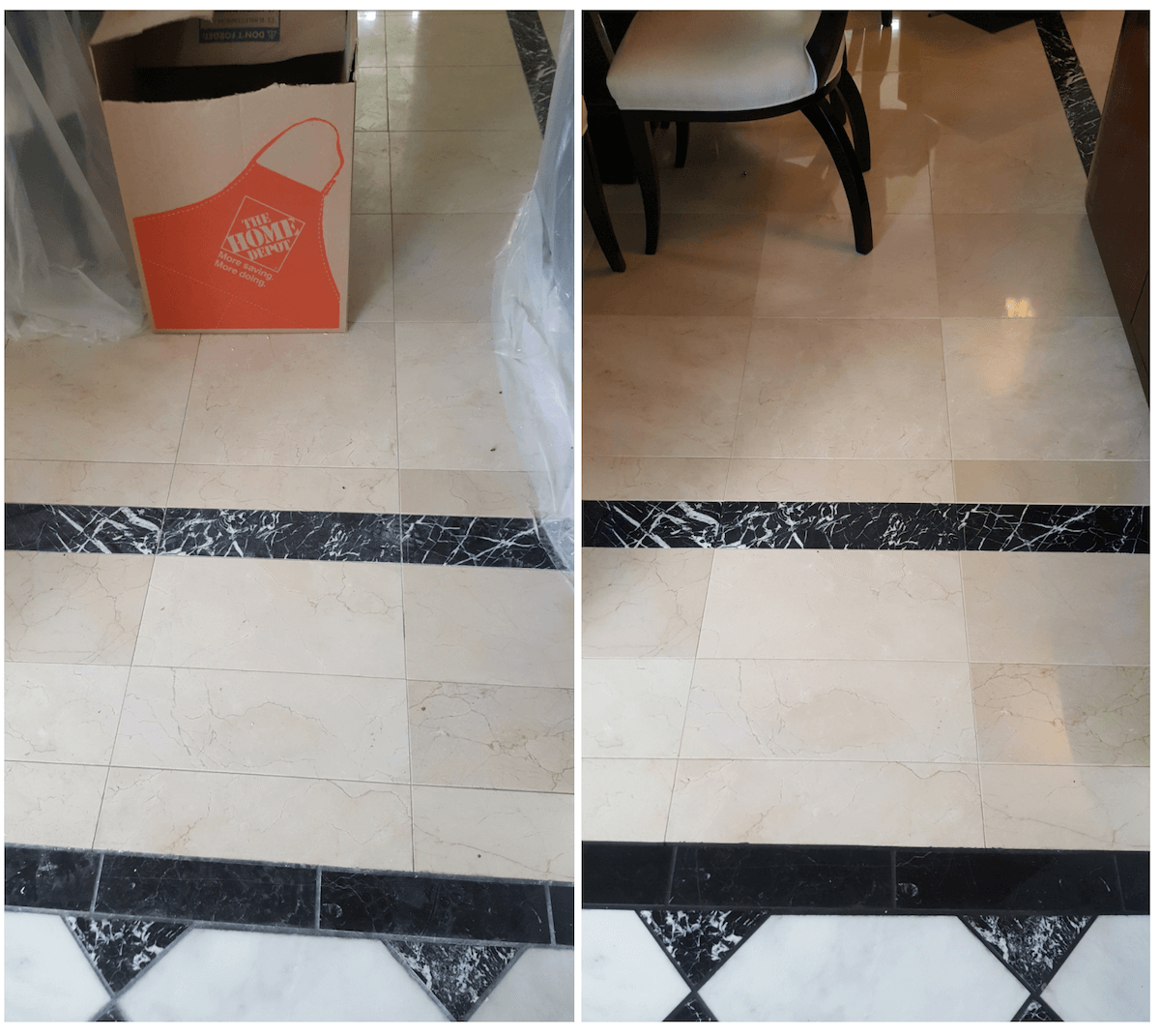 Why is my natural stone floor getting more stains?