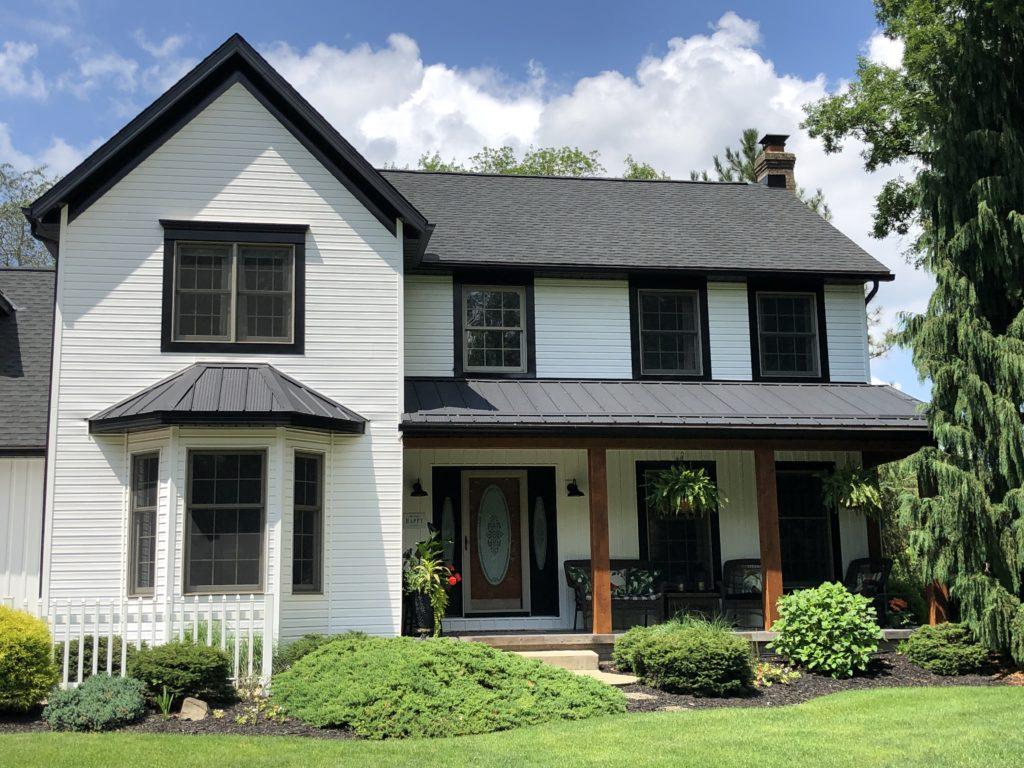 new gaf shingle roof installed in hartville, ohio