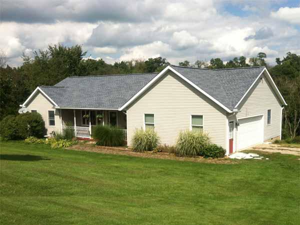 biscayne blue gaf timberlin shingle roof photo