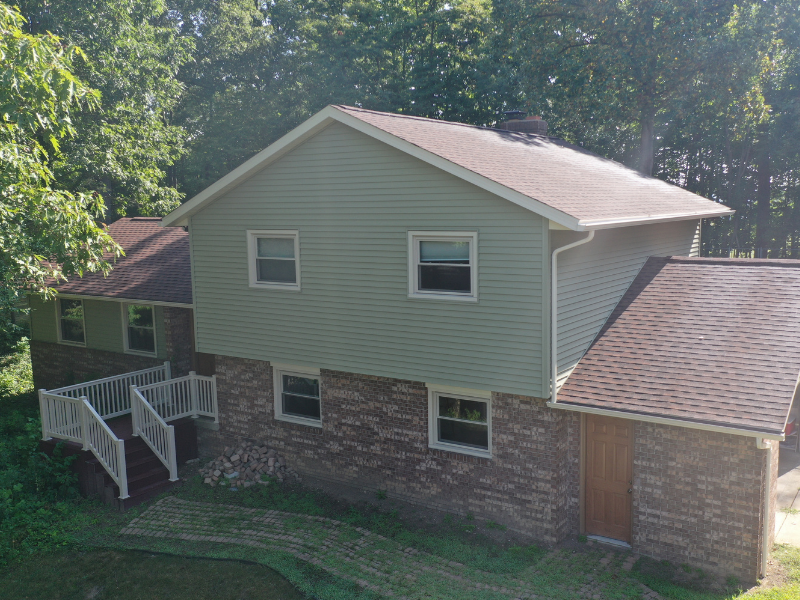 We completed a whole makeover on this home in Dover, Ohio.