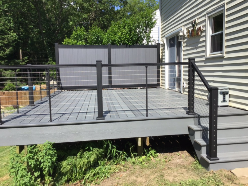 Deck Project by Kline Home Exteriors