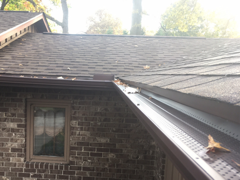 Gutters Installed by Kline Home Exteriors