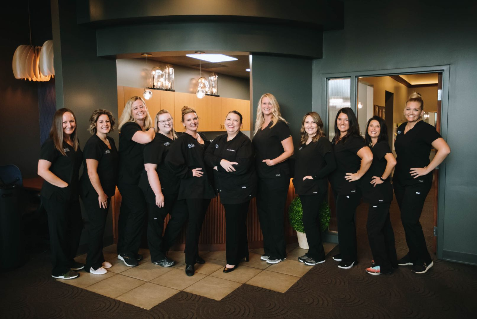 Photo of the Grin Dentistry team